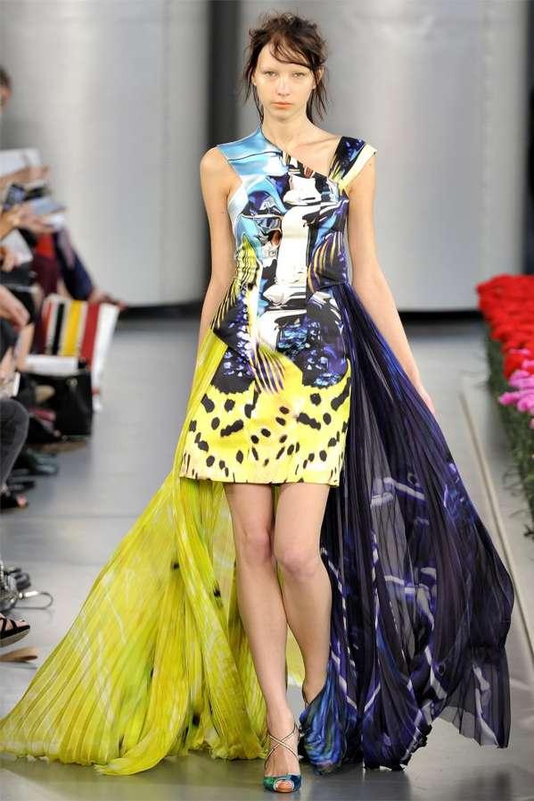 Frenzied Flowery Fashions