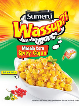 Snackable Masala Corn Products