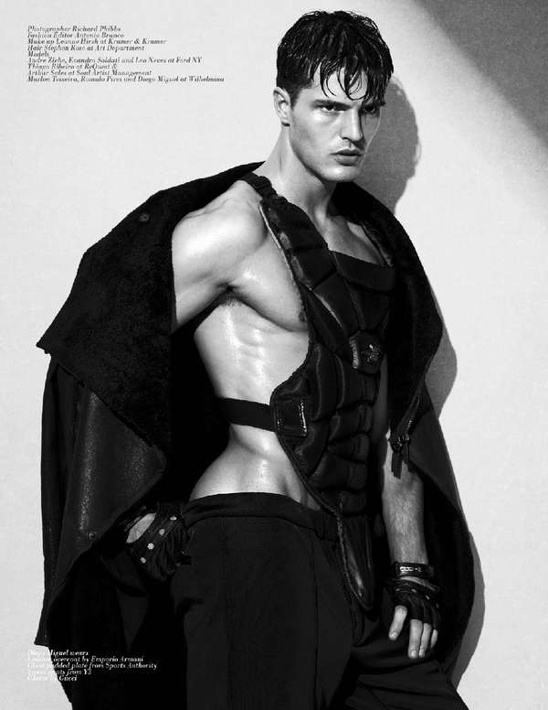 Masculine Gladiator Shoots