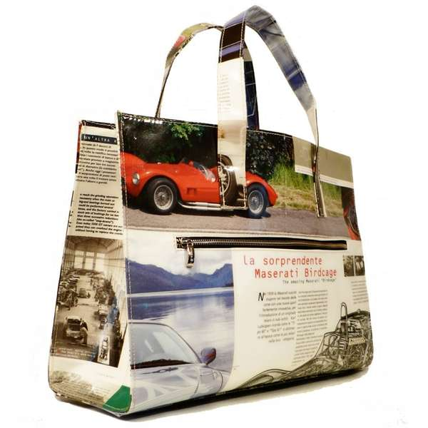 Totes From Car Brochures
