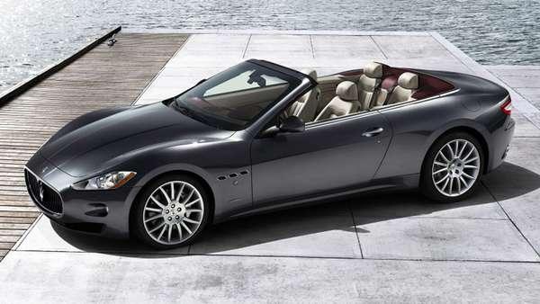 Family Sized Super Cars Maserati Grancabrio Takes Hot To