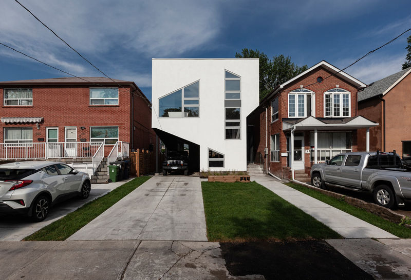 Exploratory Geometry-Inspired House Designs