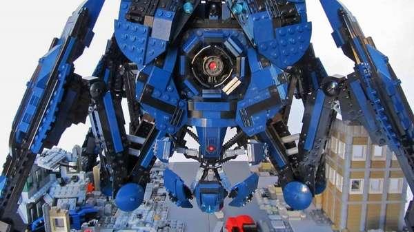 Building Block Sci-Fi Terrors