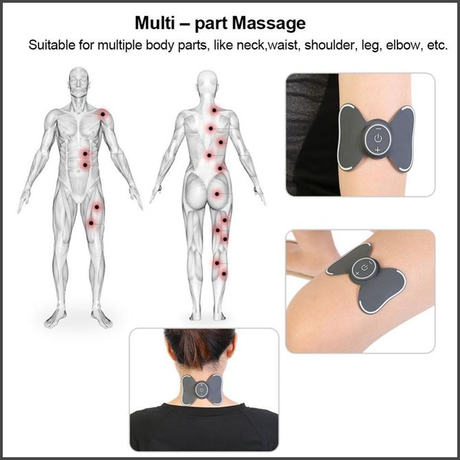 Multi-Functional Portable Massage Pads