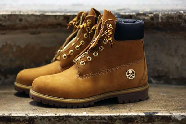 Tough Zipped Footwear Mastermind Japan X Timberland Boots