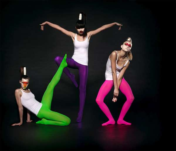 Vibrant Tights Photography