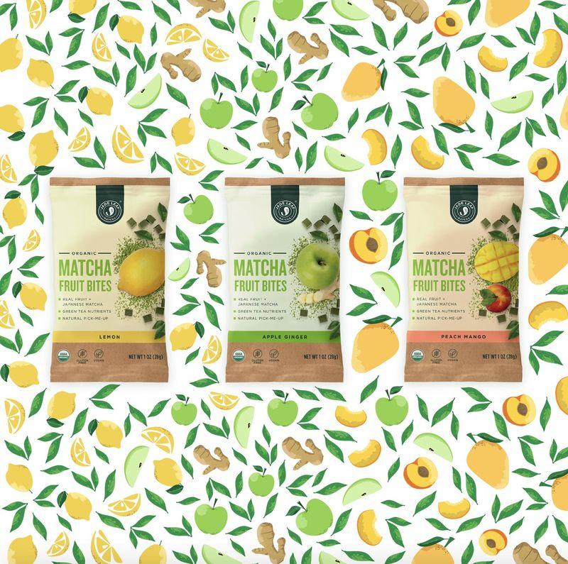 Fruity Matcha Bars