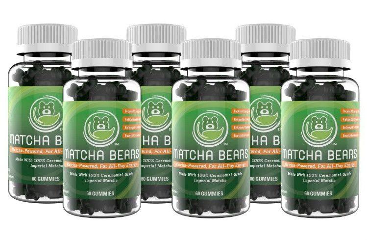 Antioxidant Matcha Gummies