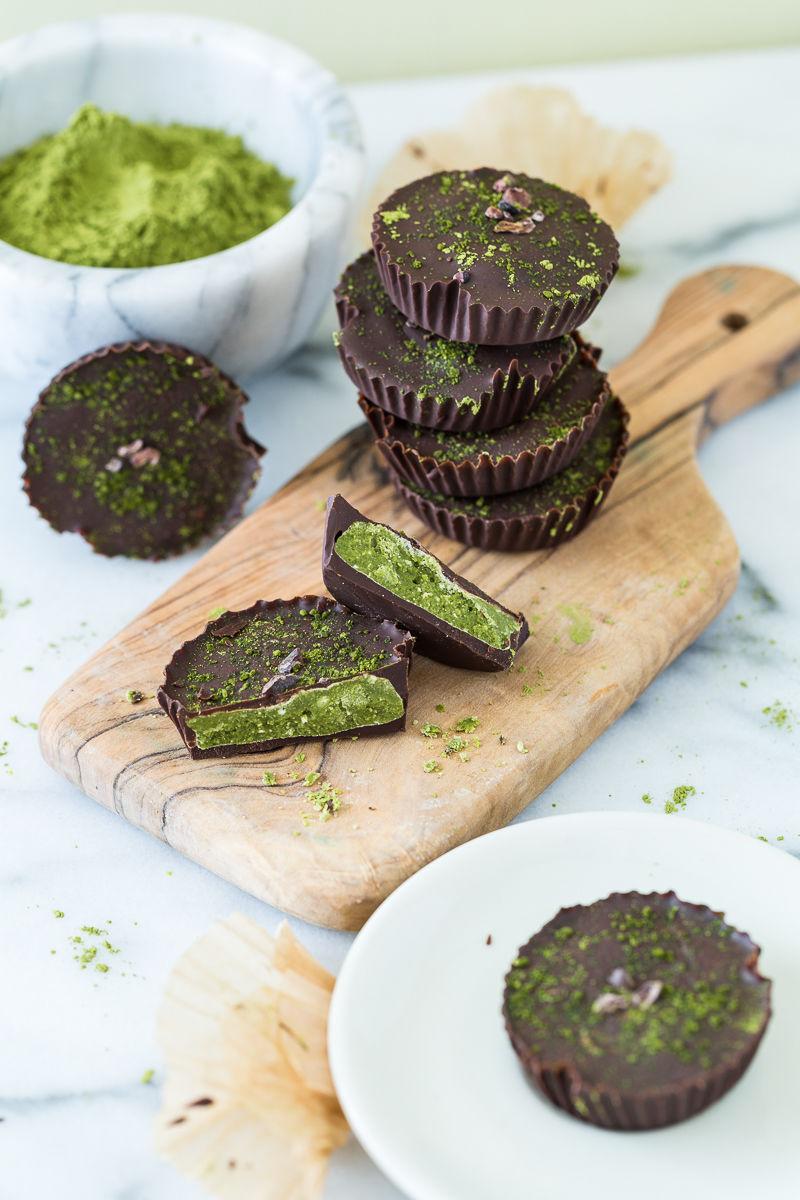 Chocolatey Matcha Desserts