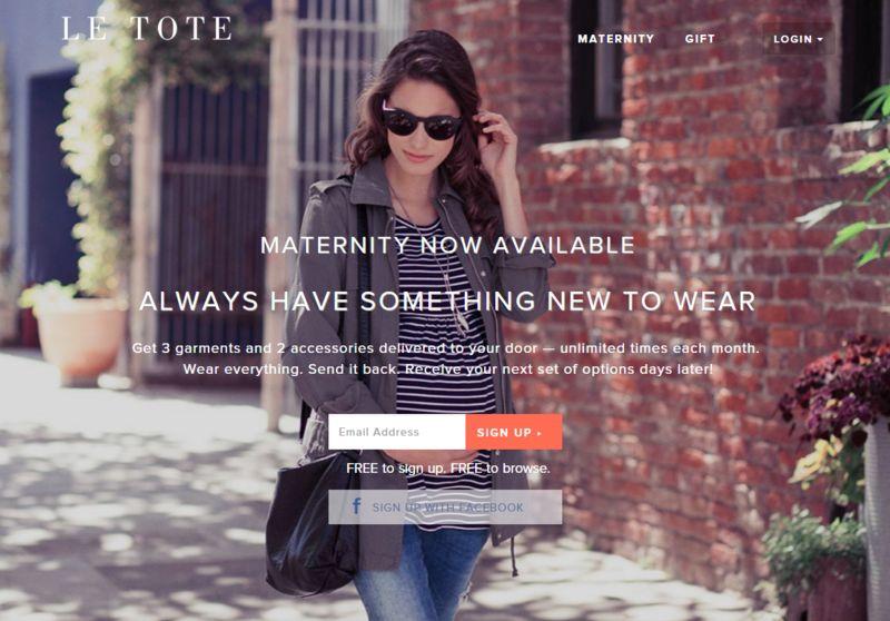 Unlimited Maternity Rentals