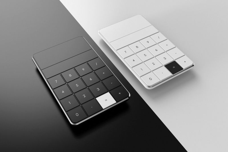 Monochromatic Math Calculators