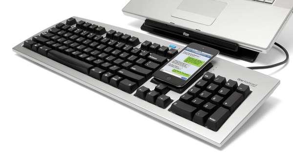 Smartphone-Integrated Keypads