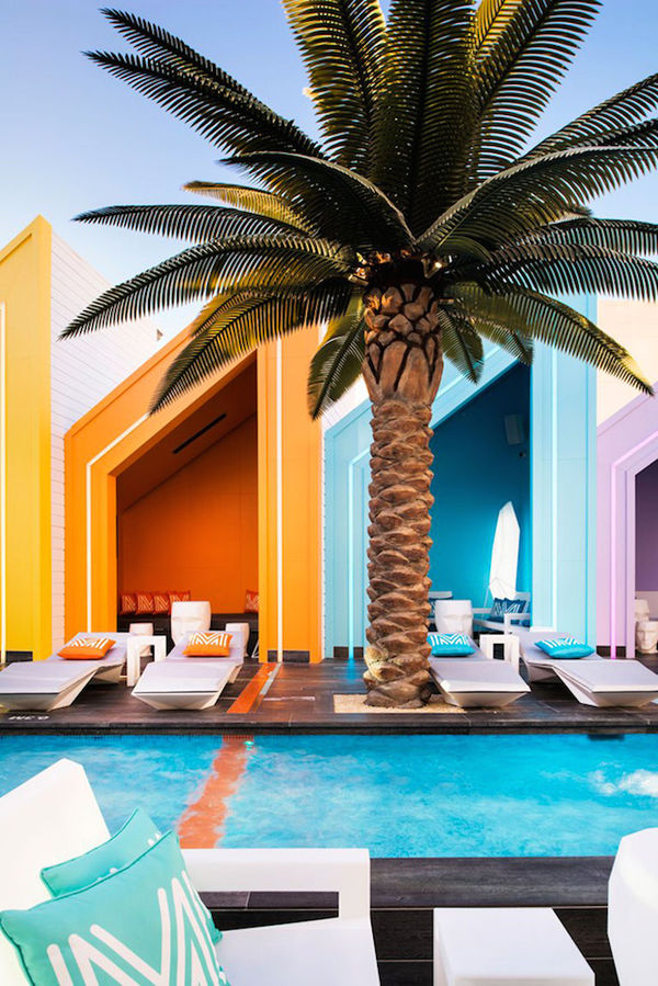 Technicolor Poolside Clubs
