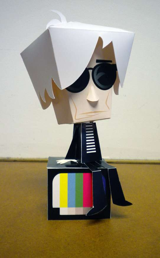 Whimsical Cartoon Papercrafts