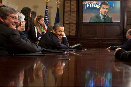 Photoshopped Presidential Pics
