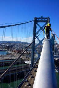 Dizzying Bay Bridge Photography
