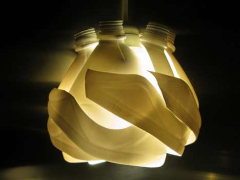 Artistically Upcycled Lighting