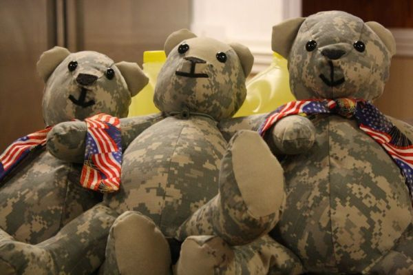 Army Uniform Teddy Bears