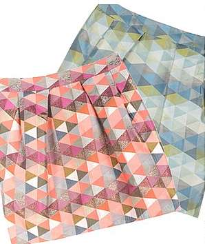 Bedding-Inspired Skirts