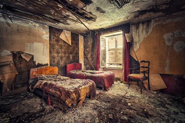 Detailed Decaying Photography Matthias Haker