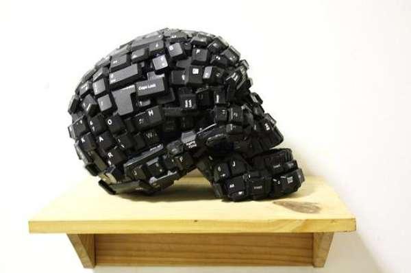 Keyboard Skulls