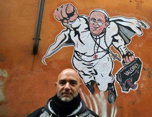 Heroic Papal Graffiti