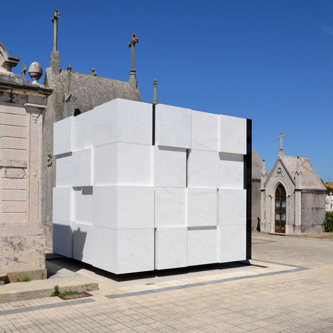 Rubik Cube-Inspired Mausoleums