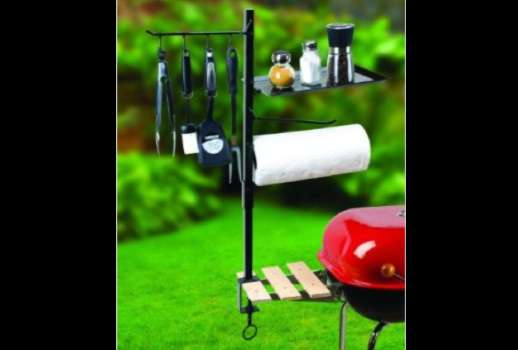 Branching Barbecue Storage
