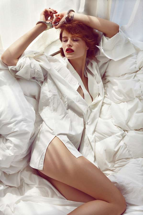 Seductive Bedroom Editorials