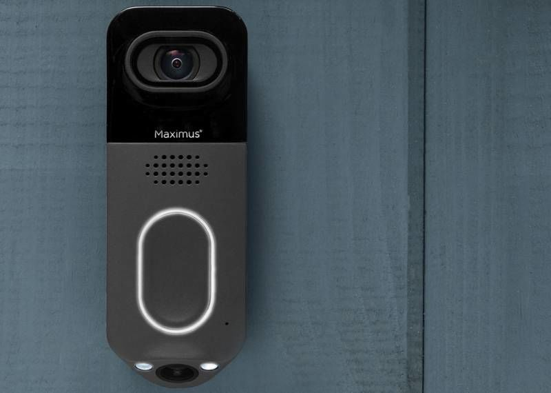 Hdr Dual Camera Doorbells Maximus Answer Doorbell