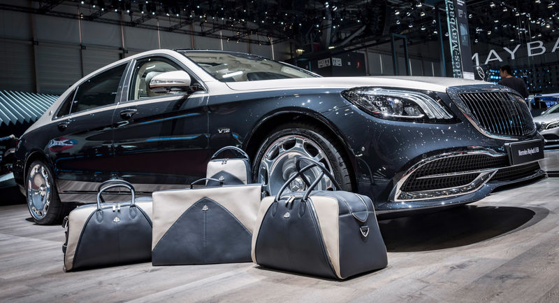 Automotive-Inspired Luggage