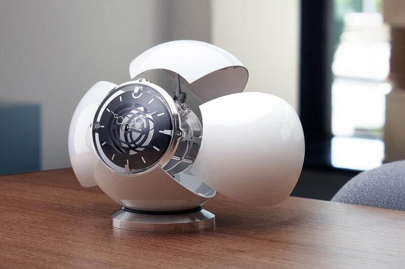 Opulent Alien-Inspired Orb Clocks