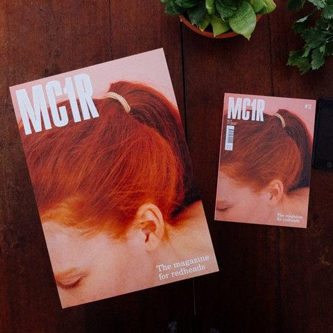 Redhead-Representing Magazines