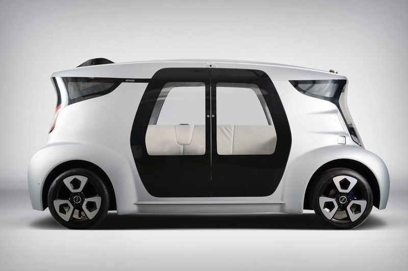 Open-Concept Cabin Vehicles