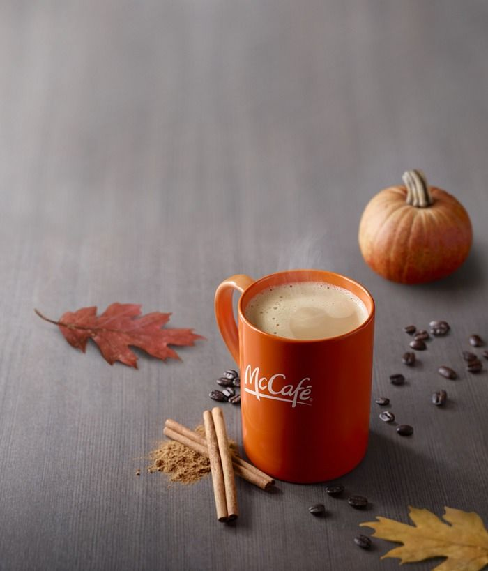 Fast Food Pumpkin Lattes