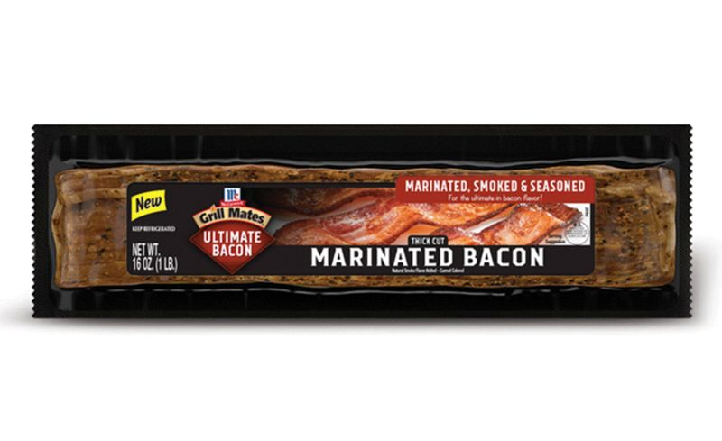 Prepackaged Seasoned Bacon Products