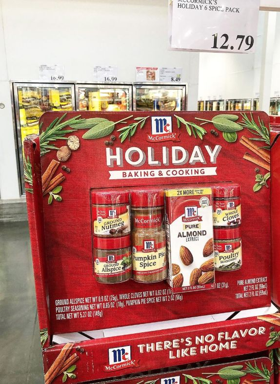 Supersized Holiday Spice Packs