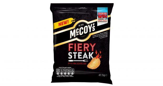 Spicy Steak-Flavored Chips