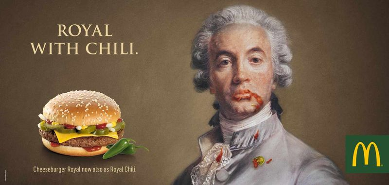 Aristocratic Burger Ads