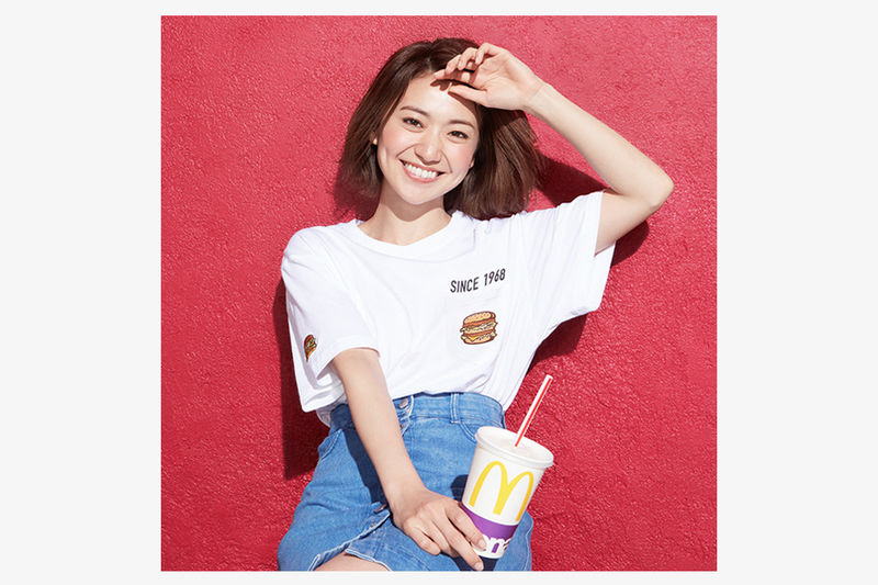 Retro Fast Food-Branded Streetwear
