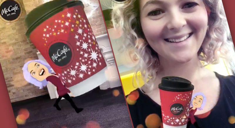 Sponsored Coffee-Stealing Avatars