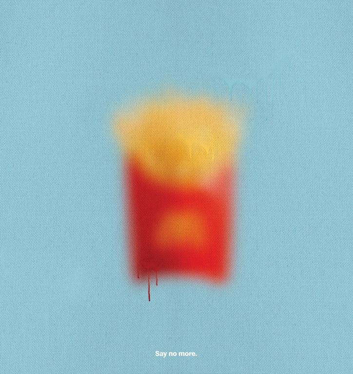 Blurred Fast Food Campaigns