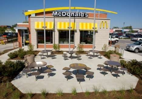 Eco Friendly Fast Food Mcdonald S Opens Leed Certified