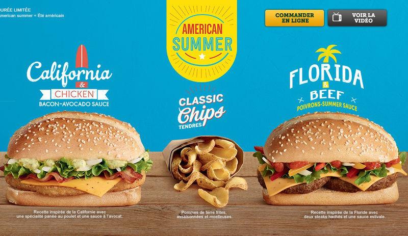 Satirical American Menus Fast Food