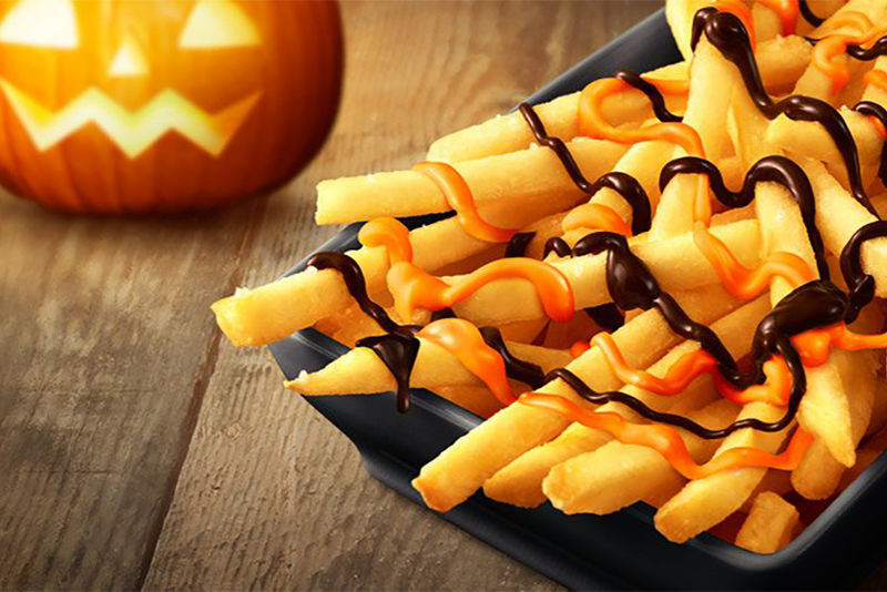 Chocolate Pumpkin Fries