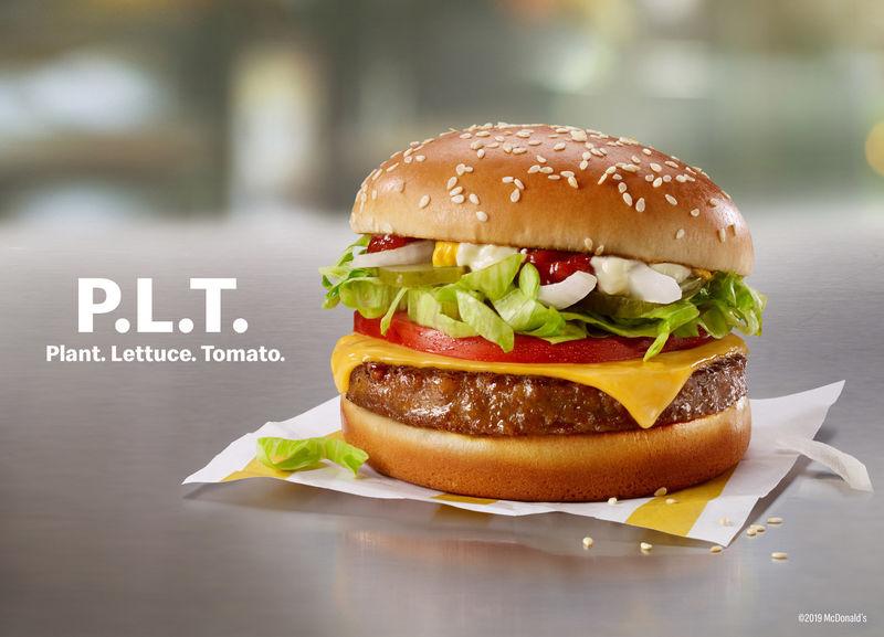 Meat-Free Fast Food Burgers