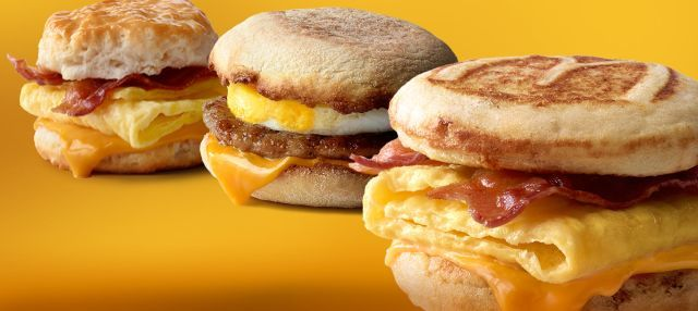 Premium Breakfast Sandwich Promotions