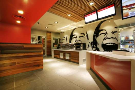 Mcdonalds Interior Design extravagant fast food restaurants : mcdonalds total makeover