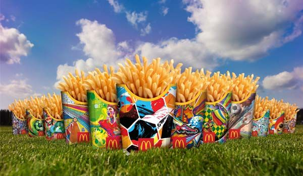 Soccer-Themed Fast Food