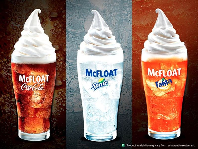 Fast Food Dessert Drinks